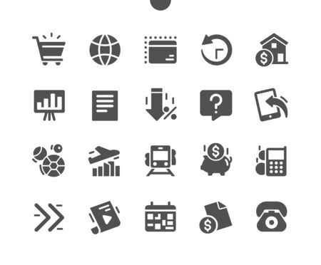 Payment system Well-crafted Pixel Perfect Vector Solid Icons 30 2x Grid for Web Graphics and Apps. Simple Minimal Pictogram Ilustração