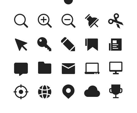 General v2 UI Pixel Perfect Well-crafted Vector Solid Icons 48x48 Ready for 24x24 Grid for Web Graphics and Apps. Simple Minimal Pictogram Ilustração