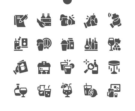 Bar 2 Well-crafted Pixel Perfect Vector Solid Icons 30 2x Grid for Web Graphics and Apps. Simple Minimal Pictogram