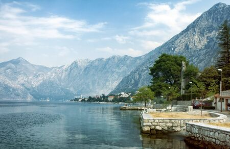 morn: Bay of Kotor,Montenegro