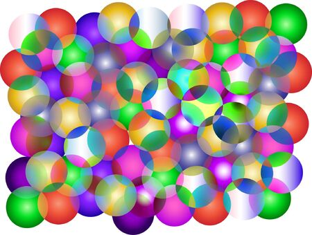 color bubbles - vector