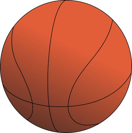 basket ball illustration - vector Vector