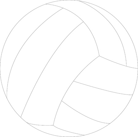 handball ball illustration - vector Illustration