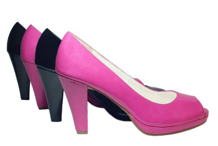 Two pairs of womens shoes photo