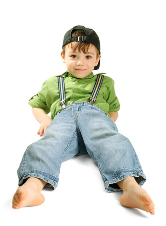 Portrait of young boy Stock Photo