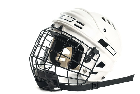 Hockey helmet Stock Photo - 9546487