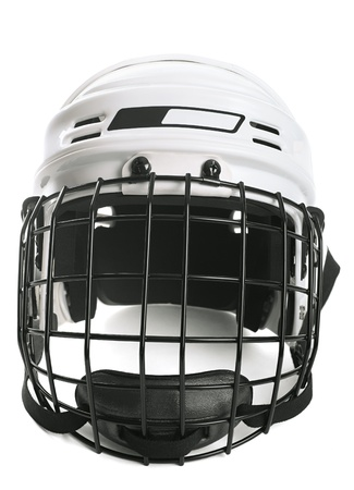 Hockey helmet Stock Photo - 9546492