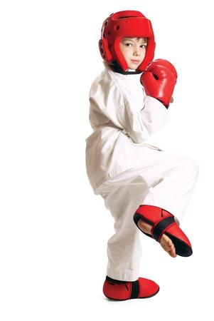 Sportsman boy Stock Photo - 9837690