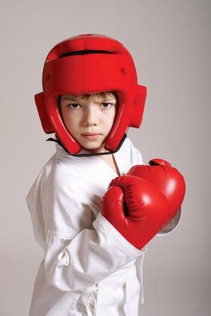 Sportsman boy Stock Photo - 10481206