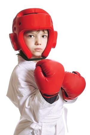 head protection: Sportsman boy
