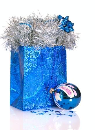 Christmas gift bag photo