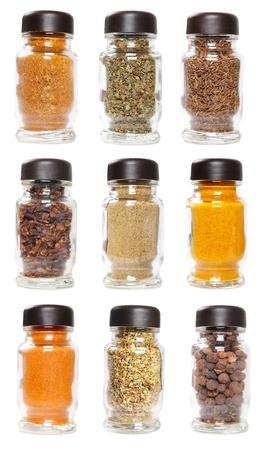 karri: Bottles with seasonings