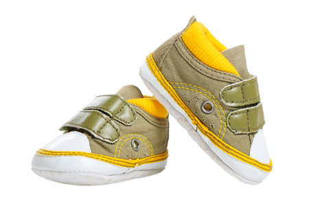 bootee: Baby bootee Stock Photo