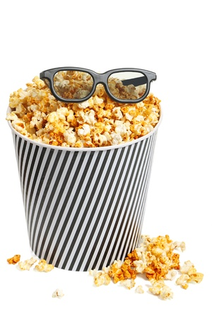 stereoscopic: Popcorn box