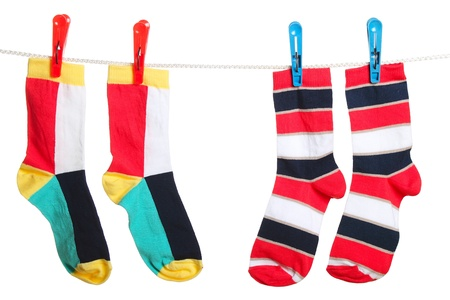 The socks Stock Photo - 13690638