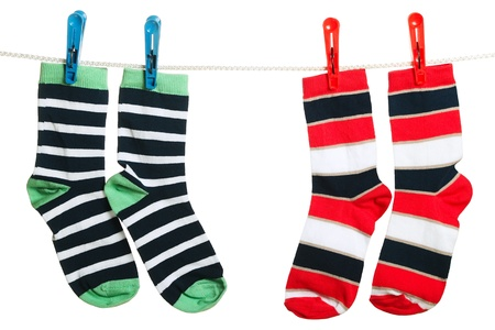 The socks Stock Photo - 13870381