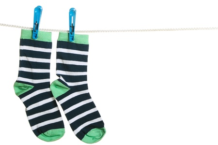 The socks Stock Photo - 13870367