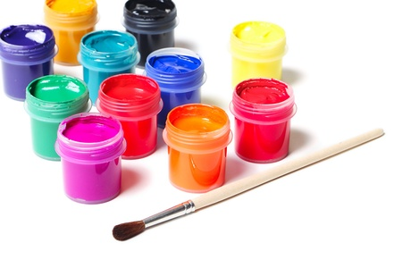 Paints photo