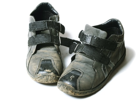 dirtiness: Old shoes