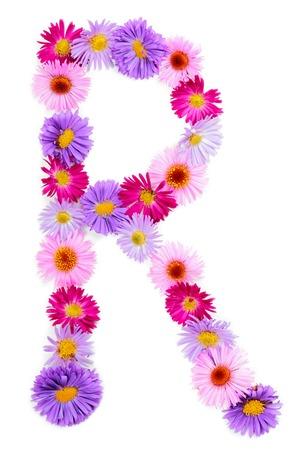 r image: Alfabeto fiore