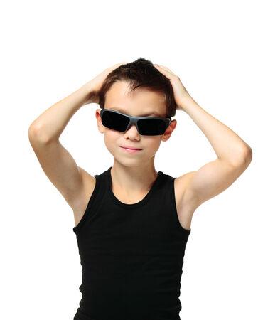 cool boy: Cool boy Stock Photo