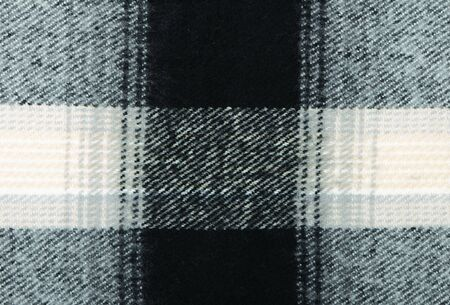 checkered scarf: Checkered wool scarf close-up as textured background