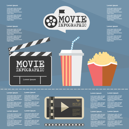 videotape: slides, flag, movie, interface, vector, cinema, symbol, multimedia, video, template, graphic, element, digital, black, clapperboard, technology, flat, illustration, retro, panel, frame, look, audio, design, videotape, film, play, player, projector, screen