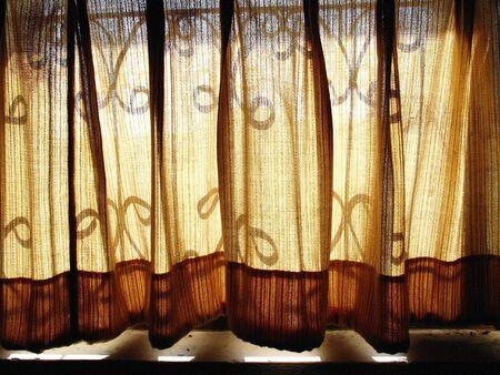 A Shade curtain