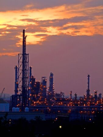 industria petroquimica: Planta industrial
