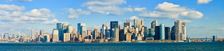 New York City Manhattan Skyline 版權商用圖片 - 10307400