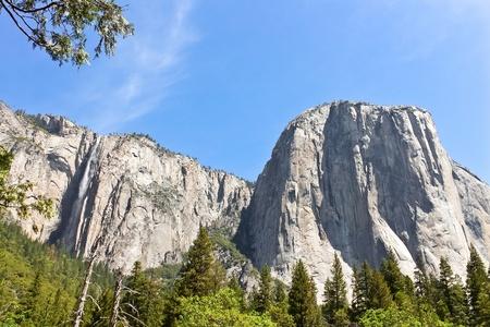 half dome: El Capitan, Yosemite National Park, California
