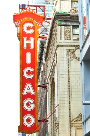 The famous Chicago Theater on State Street in Chicago, Illinois Stock Photo - 11314660
