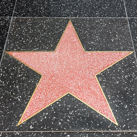 Star on the Hollywood Walk of Fame at Hollywood Blvd