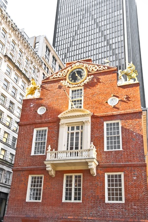 Boston Old State House  Stock Photo - 11652789