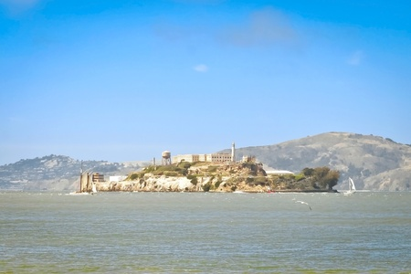 Alcatraz island famous prison in San Francisco  Stock Photo - 11652784