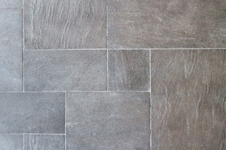 Natural slate tile pavings photo