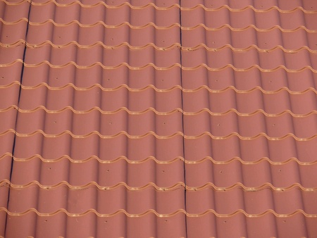 Tile. Texture. Roof.  Stock Photo
