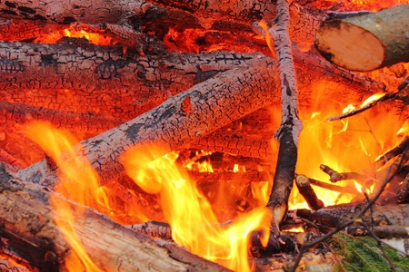 arson: Big fire. Flame.