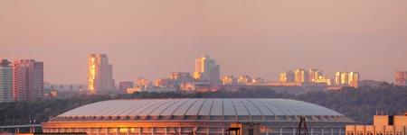 Morning Moscow. Luzhniki.  photo