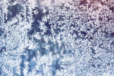 crystal background: Frosty patterns