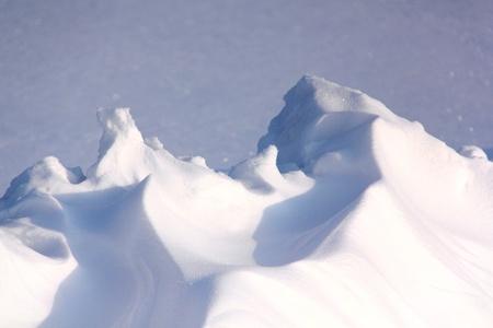 snowdrifts: Snowdrifts  Winter   Stock Photo