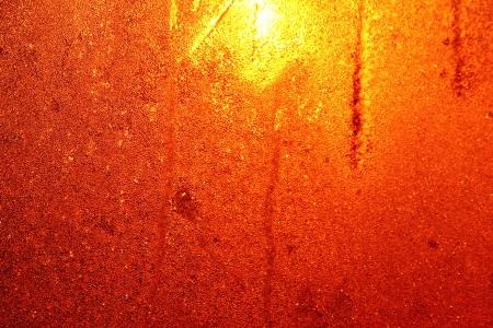 Window frost  Dawn Stock Photo - 17009397