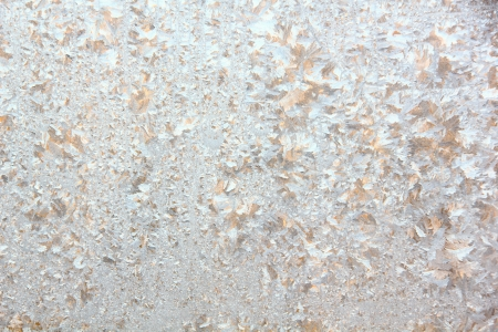 Window frost  Rural   Stock Photo - 17009505
