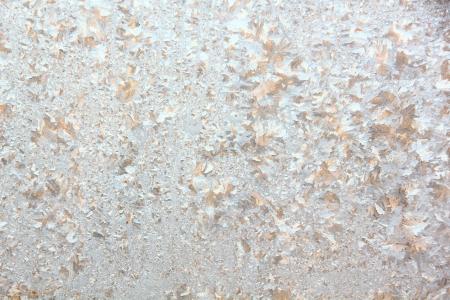 frost bound: Window frost  Rural