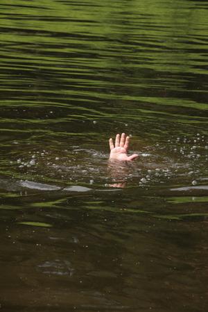A drowning man   photo