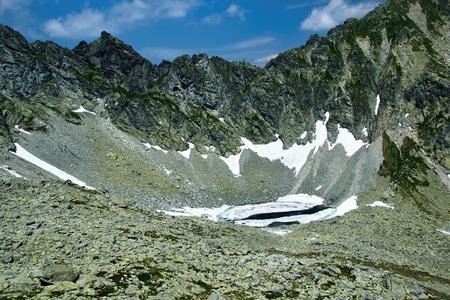 Mountain lake in High Tatra, Slovakia