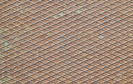 Rusty dirty metal sheet