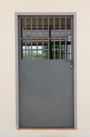 prison: Prison gate lock
