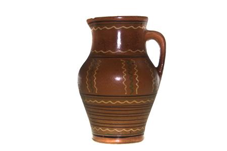 jug isolated on white background Stock Photo