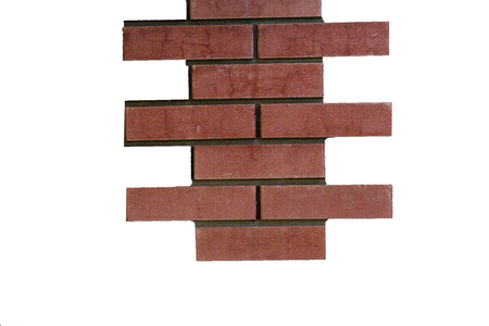 brick isolated on white background